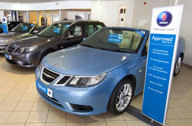Free servicing for used Saabs