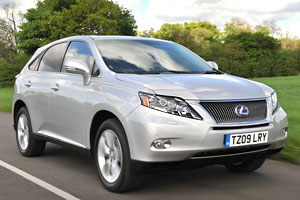 Lexus RX450h Ten Point Test
